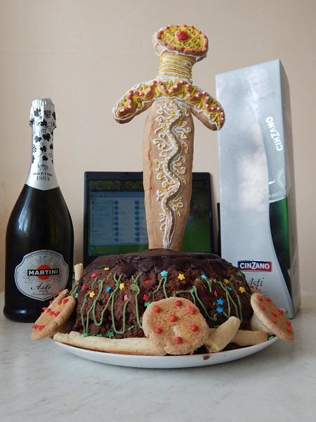 Торт Меч в камне