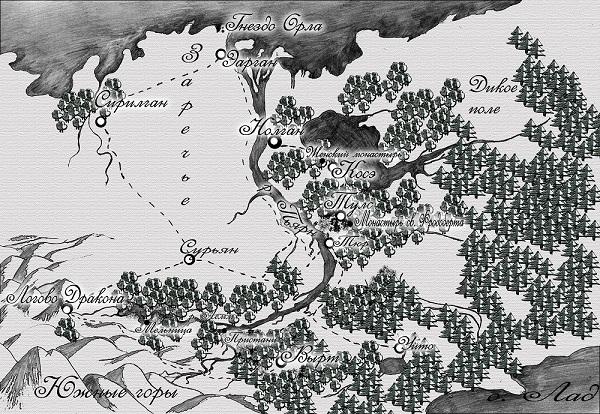 карта аттании